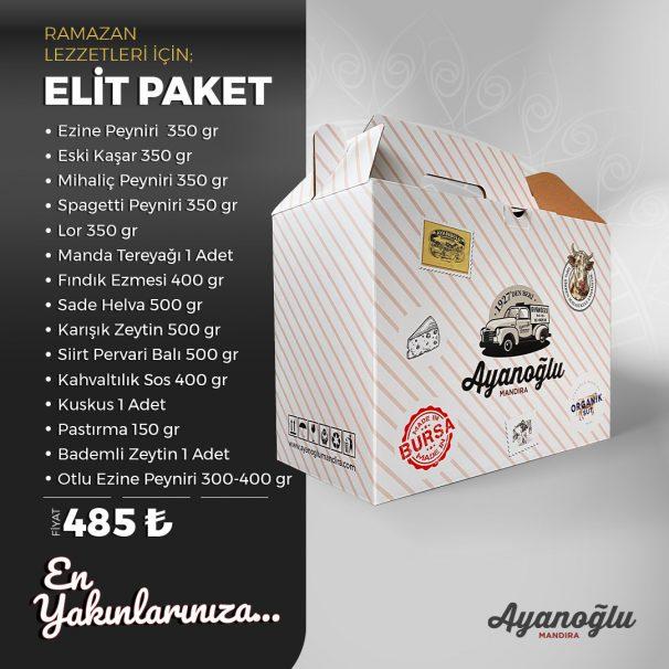 RAMAZAN KOLİSİ ELİT PAKET